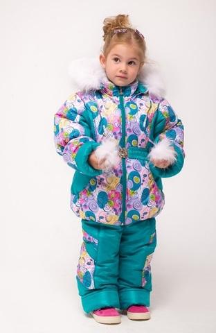 Зимний комбинезон-костюм Dina ментол