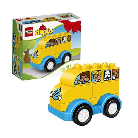 LEGO Duplo: Мой первый автобус 10851 — My First Bus — Лего Дупло