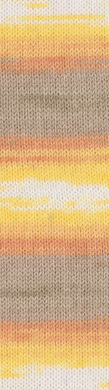 Пряжа Alize Baby Wool Batik желт-беж-оранж 4797