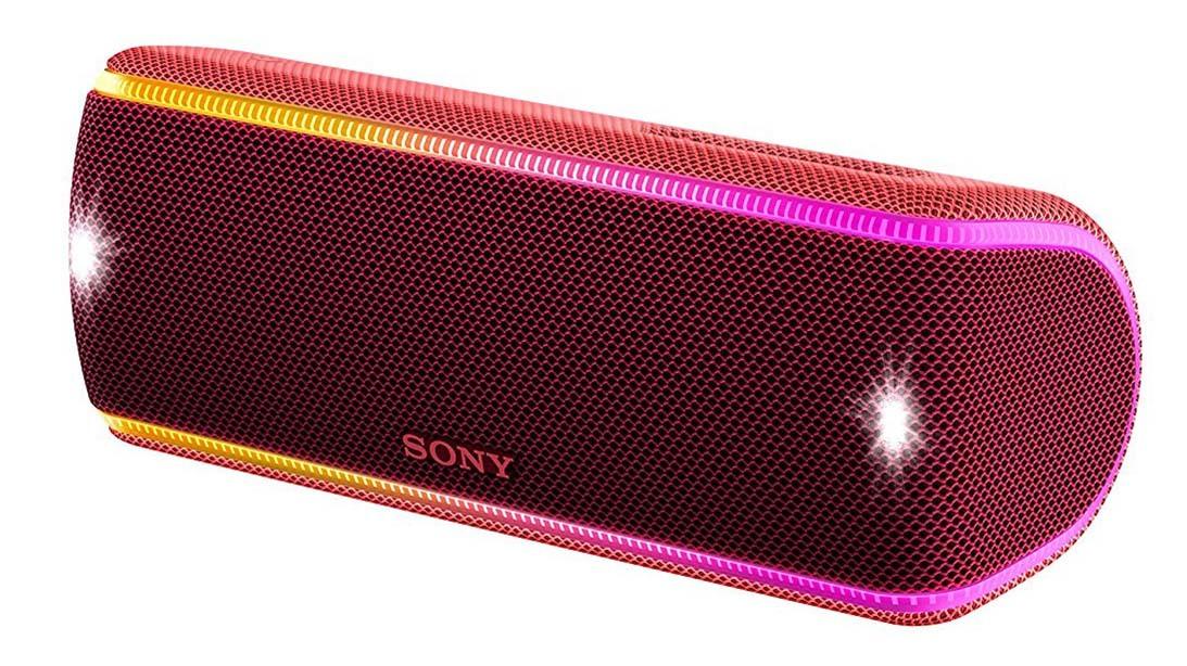 SRS-XB31R портативная акустика Sony, красный
