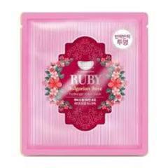 Гидрогелевая маска для лица с рубиновой пудрой и болгарской розой Koelf Ruby & Bulgarian Rose Mask Pack