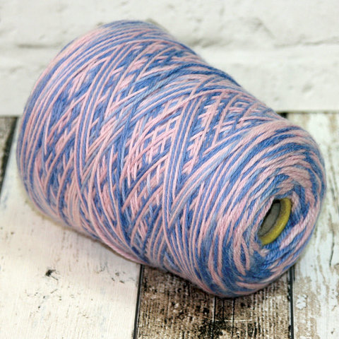 Меринос секционный розово-голубой