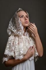 Донской платок в церковь