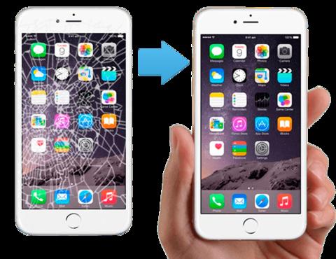 Замена стекла  IPhone 6 6Plus