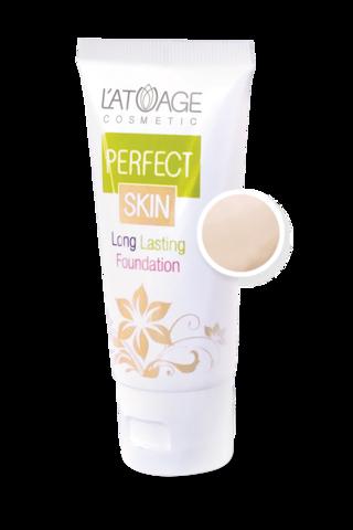 L'atuage Perfect skin Тональный крем тон №102