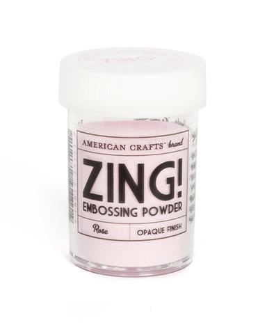 Пудра для эмбоссинга ZING! Rose