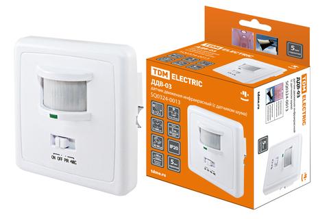 ДДВ-03 500Вт, 5-480с, 2-12м, 5+Лк, 140гр, 30-90Дб, IP20, TDM