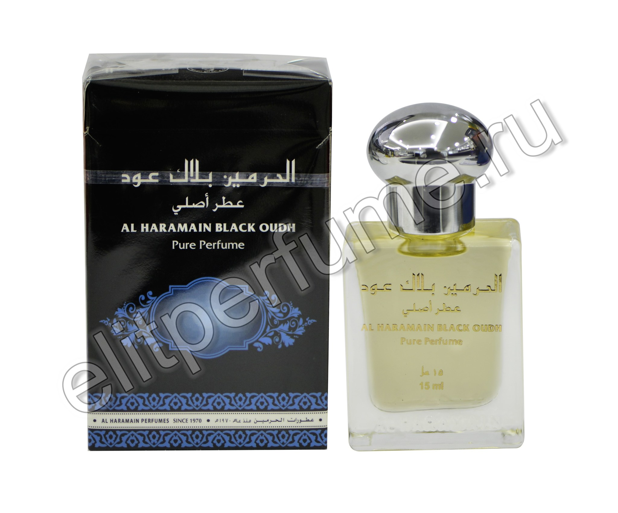 Al Haramain Black Oudh / Аль Харамайн Черный уд 15 мл арабские масляные духи от Аль Харамайн Al Haramain Perfumes