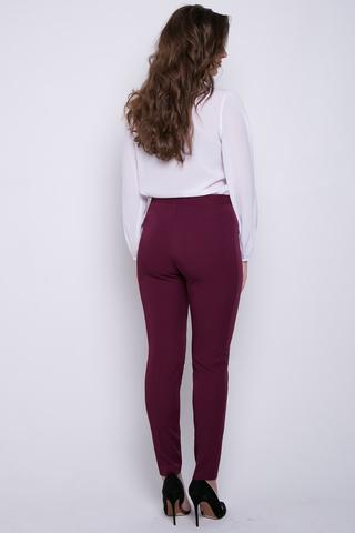 Классические зауженные брюки,. Застежка на пуговице и молнии (Длина 100 см)