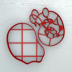 Мишка с шестеркой