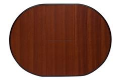 Стол раскладной Оливия (Olivia) 90 (DM-T4EX4) Maf brown — Maf brown (коричневый в рыжину)