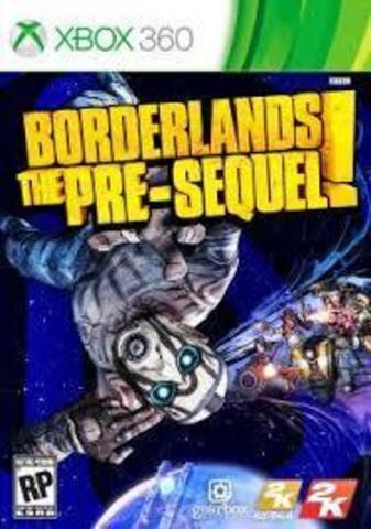 Xbox 360 Borderlands: The Pre-Sequel (английская версия)