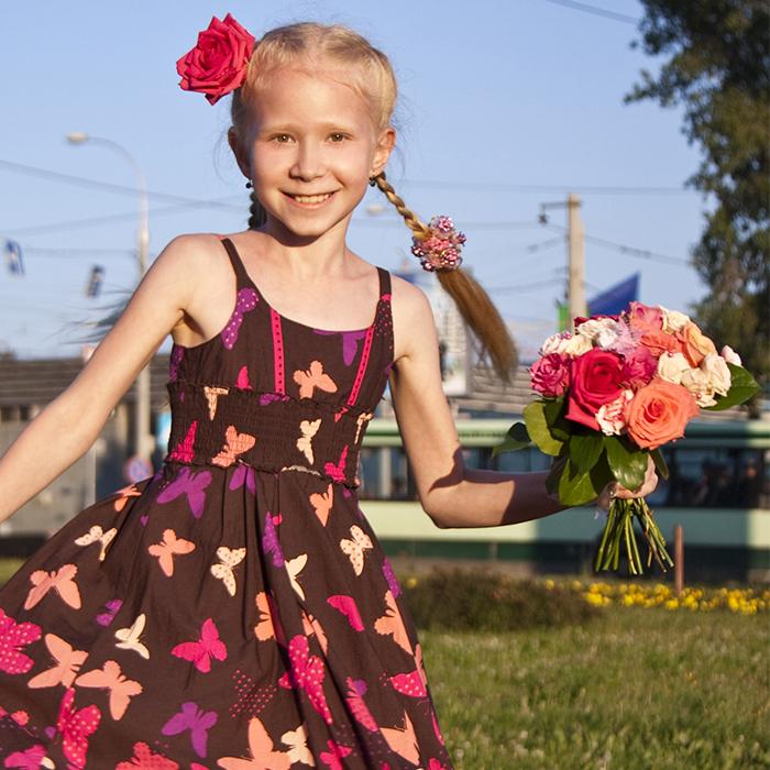 Букет невесты для фотосессии для ребенка в Перми