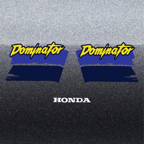 Набор виниловых наклеек на мотоцикл HONDA NX 650 DOMINATOR 1990