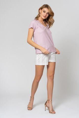 Пижама 51815L-1 розово-коричневый Laete