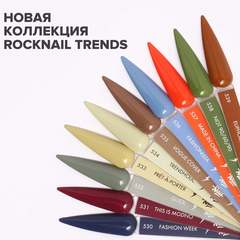Гель-лак RockNail Trends 535 Vogue Cover