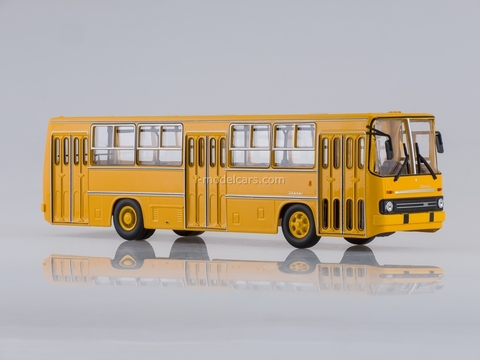 Ikarus-260 city orange Soviet Bus 1:43