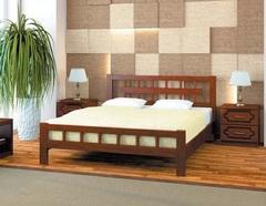 Кровать из массива Натали-5 (1200)-