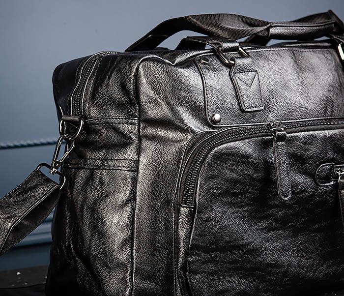 BAG545 Вместительная сумка для поездок из кожи фото 07