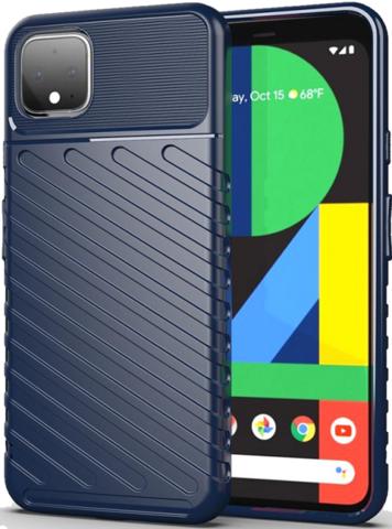 Чехол Google Pixel 4 цвет Blue (синий), серия Onyx, Caseport