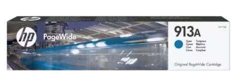 Оригинальный струйный HP F6T77AE 913A голубой