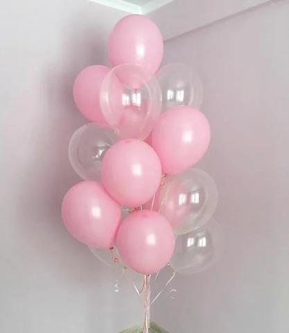 Фонтан из шаров Мыльные пузыри