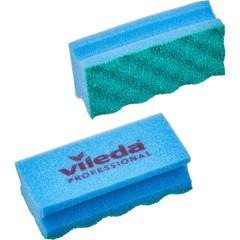 Губки для мытья посуды и уборки Vileda Professional ПурАктив 140х63х45 мм 2 штуки в упаковке синие (арт. производителя 150330)