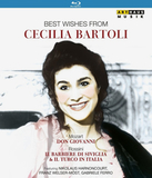 Cecilia Bartoli / Best Wishes From Cecilia Bartoli (3Blu-ray)