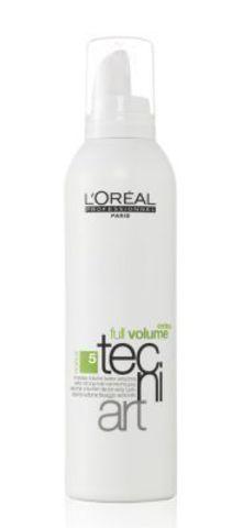 Мусс для объема нормальных и непослушных волос (фикс.5), Loreal,400 мл.