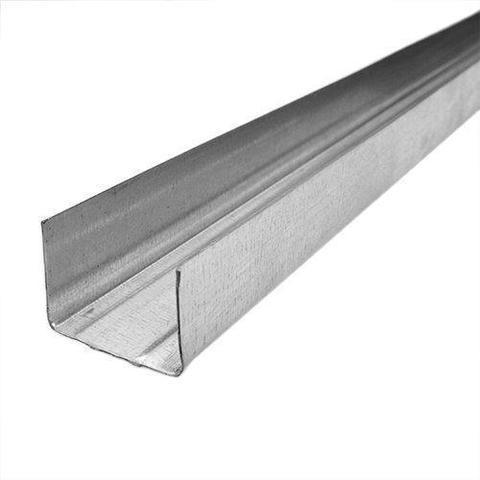 Потолочный профиль направляющий 100х40х3000 мм 0,45 мм