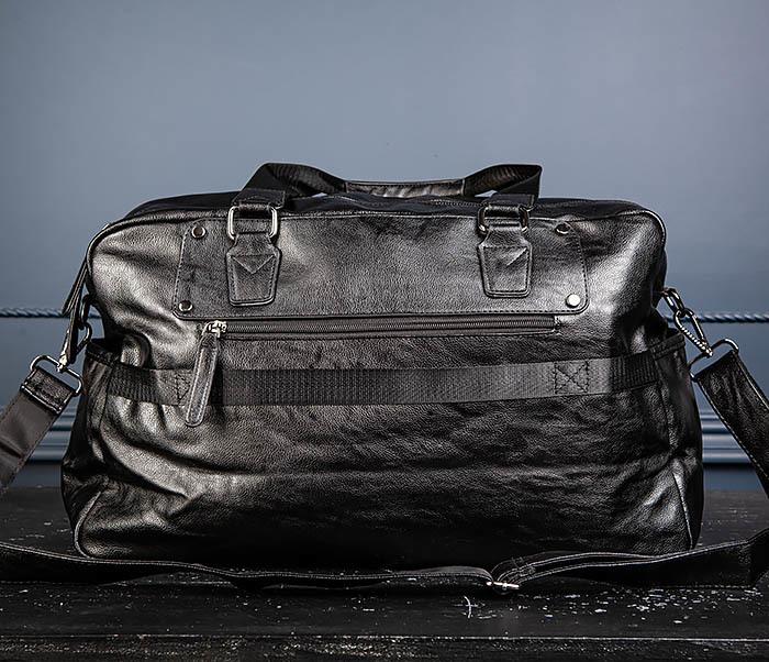 BAG545 Вместительная сумка для поездок из кожи фото 10