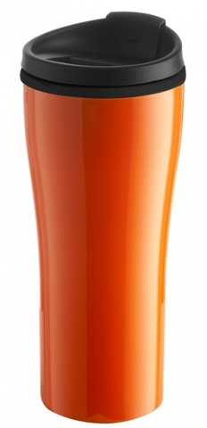 Cestovní hrnek Maybole, oranžový