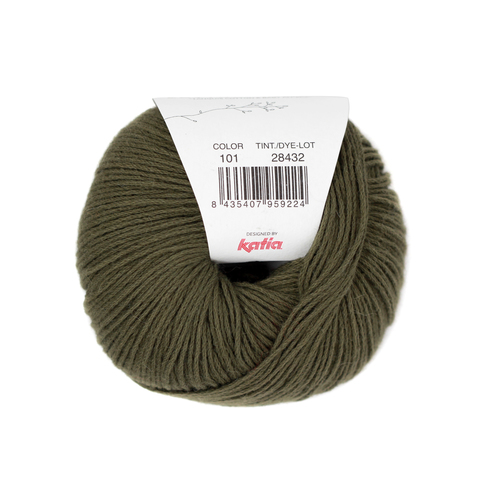 Katia Concept Cotton Alpaca - 101