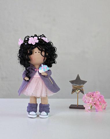 Лялька Міріам. Колекція Flower doll