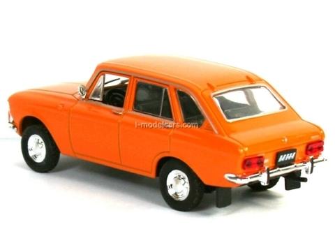 IZH-2125 Combi dark orange 1:43 DeAgostini Auto Legends USSR #54