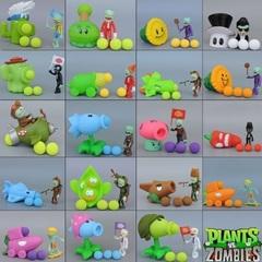 Растения против Зомби стреляющая игрушка серия 01 в пакете