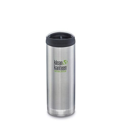 Термокружка Klean Kanteen TKWide Cafe Cap 16oz (473 мл) Brushed Stainless