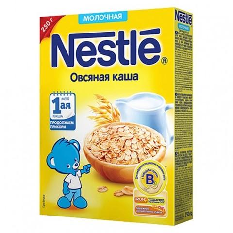 Nestlé® Молочная овсяная каша 220гр