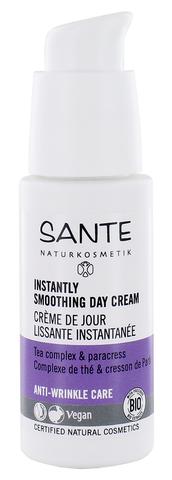SANTE Anti-age интенсивно разглаживающий дневной крем с чайным комплексом и с Био-экстрактом Акмеллы