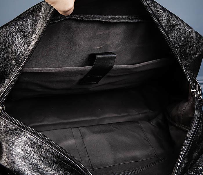 BAG545 Вместительная сумка для поездок из кожи фото 13