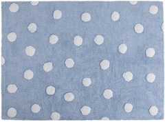 Ковер Lorena Canals Polka Dots Blue White (120 х 160)