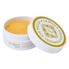 La Miso Gold Hydrogel Eye Patch - Гидрогелевые патчи с частицами золота для кожи вокруг глаз