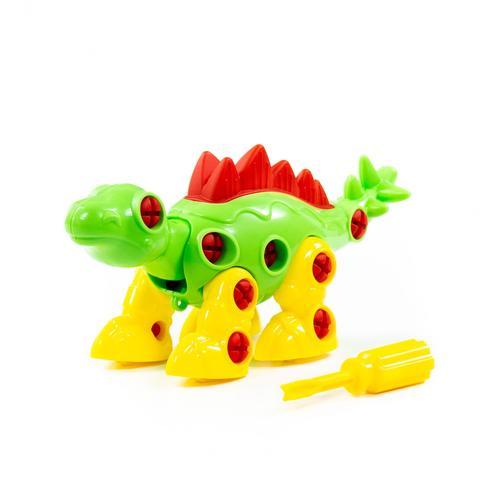 Конструктор-динозавр 30 дет.
