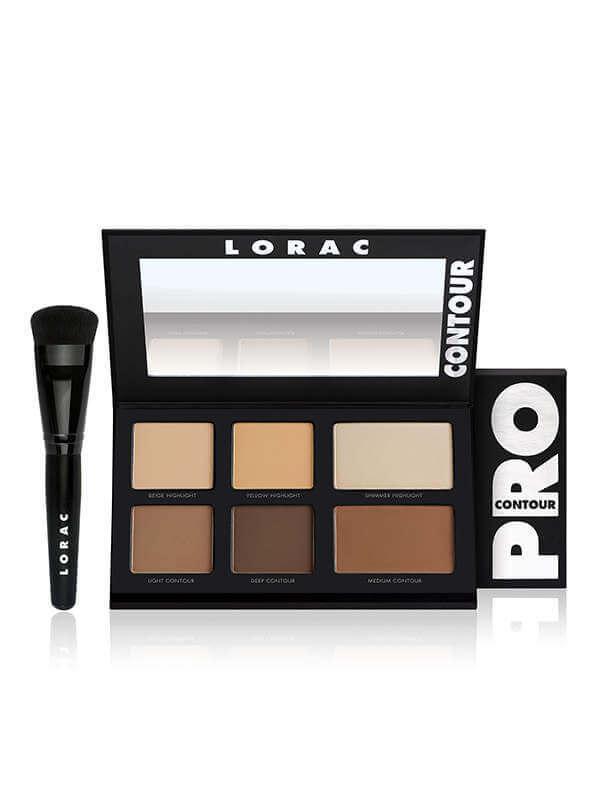 Палетка для контурирования PRO Contour Palette и кисть PRO Contour Brush