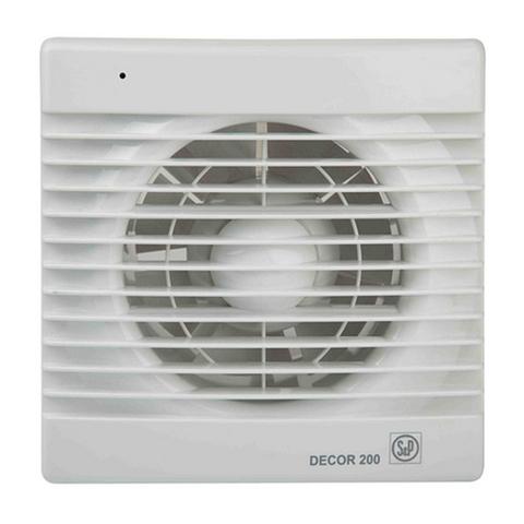 Накладной вентилятор Soler&Palau Decor 200CR (таймер)