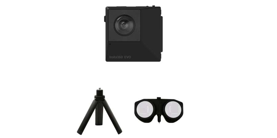 Камера панорамная Insta360 EVO 3D/2D Convertible 360/180° VR Camera комплект