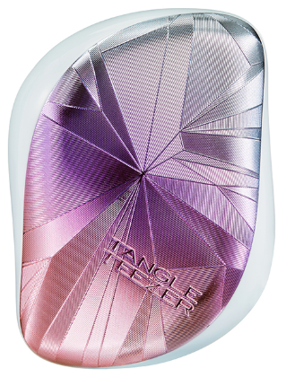 Tangle Teezer Compact Styler Smashed Holo Blue расческа для волос