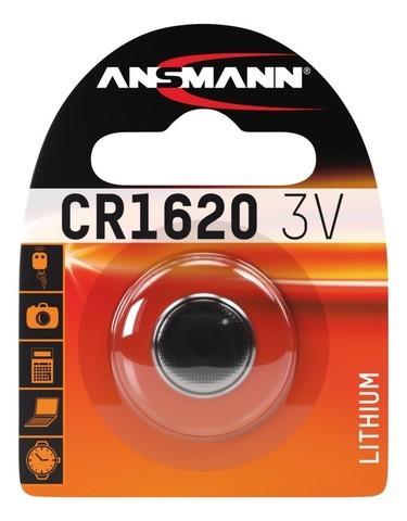 Батарейка CR 1620 ANSMANN 3V (Premium)
