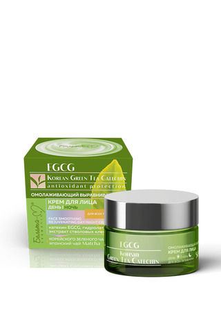 Белита-М EGCG Korean Green Tea Catechin Крем для лица день-ночь омолаживающий для всех типов кожи 50+ 50г