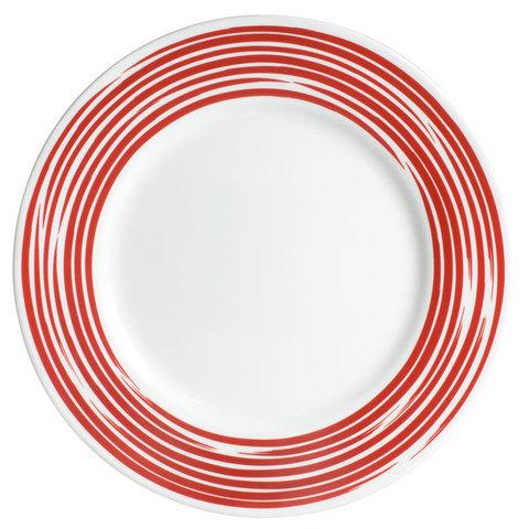Тарелка обеденная 27 см Brushed Red, артикул 1118387, производитель - Corelle